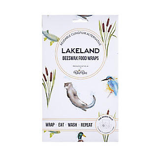 Lakeland BeeBee Reusable Beeswax Food Wraps Riverbank – Mixed Pack of 3 alt image 4
