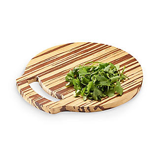 Prue's World Small Crushed Bamboo Chopping Board 26cm Dia.