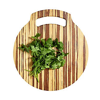 Prue's World Small Crushed Bamboo Chopping Board 26cm Dia. alt image 3
