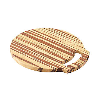 Prue's World Small Crushed Bamboo Chopping Board 26cm Dia. alt image 4