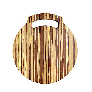 Prue's World Small Crushed Bamboo Chopping Board 26cm Dia. alt image 7