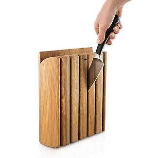 Robert Welch Signature 7-Piece Book Oak Knife Block Set alt image 3