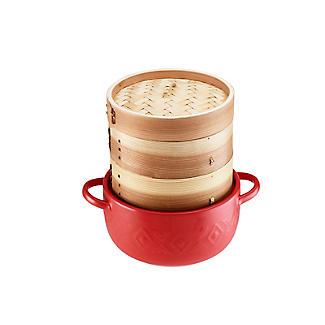 Prue's World 2-Tier Bamboo Steamer alt image 6