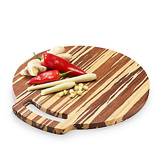 Prue's World Large Crushed Bamboo Chopping Board 31.5cm Dia.
