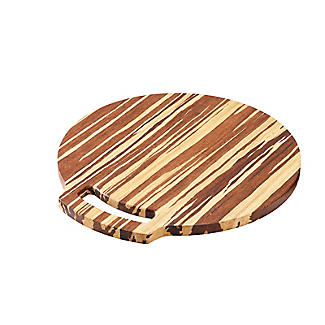 Prue's World Large Crushed Bamboo Chopping Board 31.5cm Dia. alt image 4
