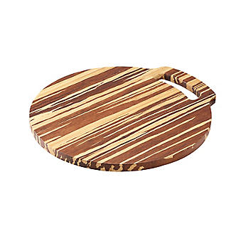 Prue's World Large Crushed Bamboo Chopping Board 31.5cm Dia. alt image 5