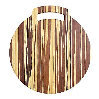 Prue's World Large Crushed Bamboo Chopping Board 31.5cm Dia. alt image 6