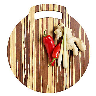 Prue's World Large Crushed Bamboo Chopping Board 31.5cm Dia. alt image 7