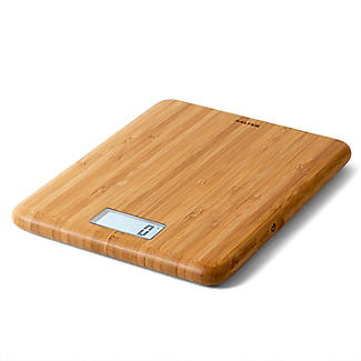 Salter Bamboo Rechargeable Digital Kitchen Weighing Scales alt image 3