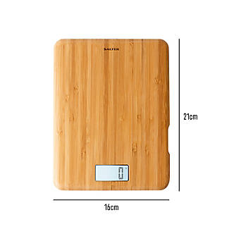 Salter Bamboo Rechargeable Digital Kitchen Weighing Scales alt image 7