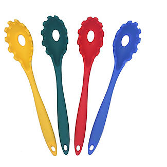 My Kitchen Silicone Pasta Server - Colours Vary alt image 1