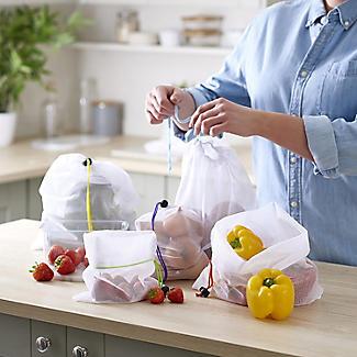 5 Lakeland Reusable Net Fruit and Vegetable Bags alt image 2