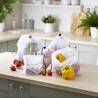 5 Lakeland Reusable Net Fruit and Vegetable Bags alt image 3
