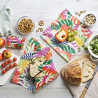 3 Lakeland Reusable Vegan-Friendly Leaf Food Wraps alt image 3
