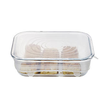 Lakeland Clear Reusable Silicone Stretch Lids – Pack of 6 alt image 9