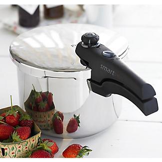 Prestige Smart Plus Stainless Steel Pressure Cooker 6 Litre alt image 2