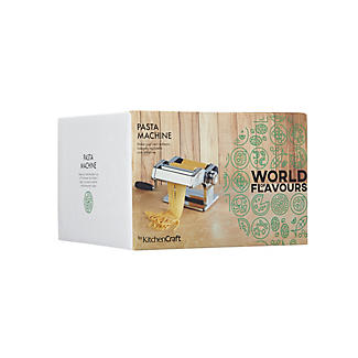 World of Flavours Pasta Machine – Stainless Steel alt image 2