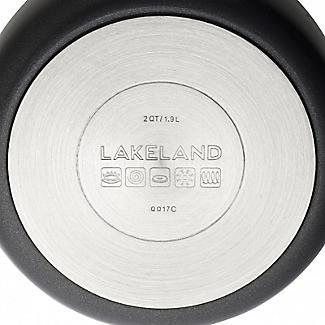 Lakeland Hard Anodised Bell Shaped 3-Piece Pan Set alt image 8