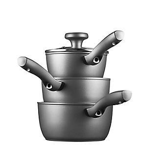 Earthpan Eco 3-Piece Saucepan Set