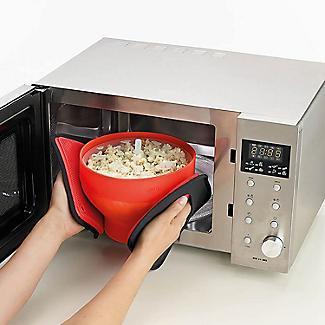 Lékué Large Microwave Popcorn Maker alt image 8