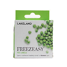 150 Freezeasy Plain White Adhesive Freezer Labels (4cm)