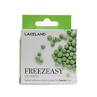 150 Freezeasy Plain White Adhesive Freezer Labels (4cm) alt image 1