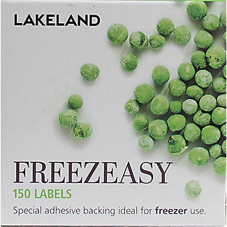 150 Freezeasy Plain White Adhesive Freezer Labels (4cm) alt image 2