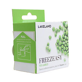 150 Freezeasy Plain White Adhesive Freezer Labels (4cm) alt image 4
