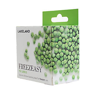 150 Freezeasy Plain White Adhesive Freezer Labels (4cm) alt image 5