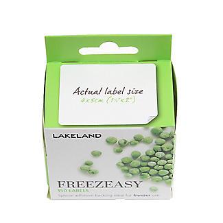 150 Freezeasy Plain White Adhesive Freezer Labels (4cm) alt image 6