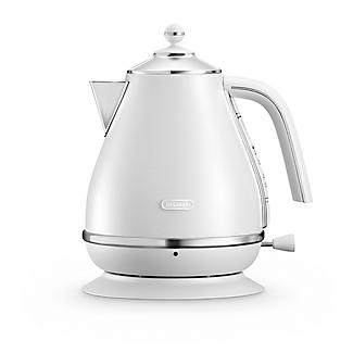 De'longhi Icona Elements 1.7L Kettle Cloud White KBOE3001.W