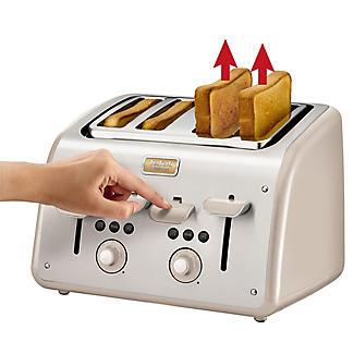 Tefal® Maison 4 Slice Toaster Oatmeal Grey TT770AUK alt image 2