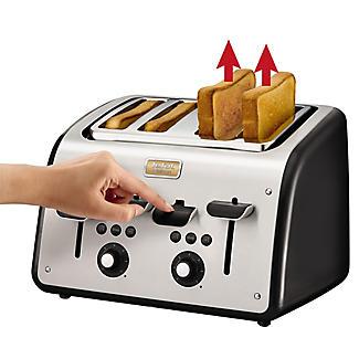 Tefal Maison 4 Slice Toaster Black TT7708UK alt image 3
