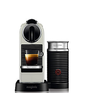 Magimix Nespresso Citiz White with Milk 11319 alt image 4