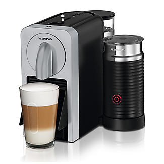 Magimix Nespresso Prodigio and Milk Coffee Machine Silver 11376