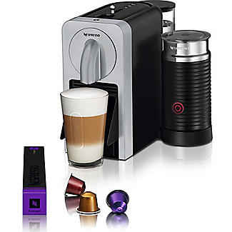 Magimix Nespresso Prodigio and Milk Coffee Machine Silver 11376 alt image 3