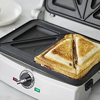 Cuisinart 2in1 Grill and Sandwich Maker GRSM2U alt image 5