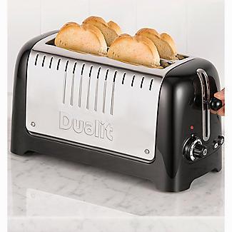 Dualit 2-Slot Long Lite Toaster 46025 alt image 6
