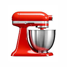 KitchenAid Artisan Mini 3.3 Litre Stand Mixer Hot Sauce 5KSM3311XBHT