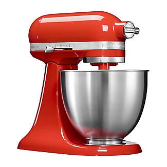 KitchenAid Artisan Mini 3.3 Litre Stand Mixer Hot Sauce 5KSM3311XBHT alt image 2