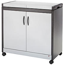 Connoisseur Hostess Trolley Silver Effect HL6232SV