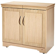 Gourmet Hostess Trolley Natural Oak