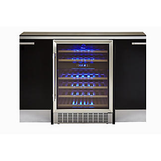 Crosslee Hostess 46-Bottle Wine Cabinet  alt image 2