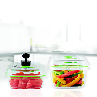 2 Foodsaver Fresh Food Container Jars alt image 6