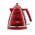 De'Longhi Avvolta 1.7L Kettle Red KBA3001.W