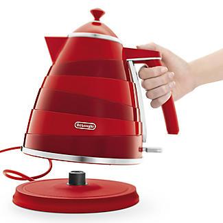 De'Longhi Avvolta 1.7L Kettle Red KBA3001.W alt image 2