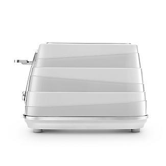 De'Longhi Avvolta Toaster White CTA4003.W alt image 2