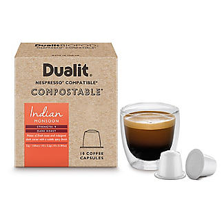 10 Dualit Compostable Indian Monsoon Capsules alt image 3