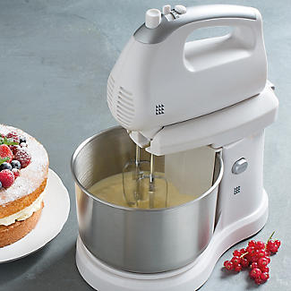 Lakeland 2 in 1 Hand and Stand Mixer White 2.8L alt image 6