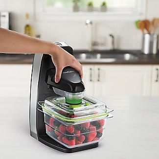 FoodSaver Vertical Vacuum Sealer with 700ml Container and Bags FFS010 alt image 4